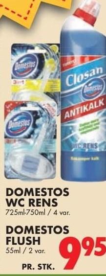 Domestos wc rens eller Domestos flush
