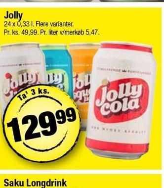 Jolly sodavand