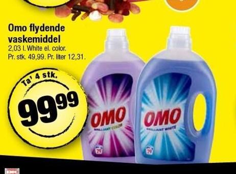 Omo flydende vaskemiddel