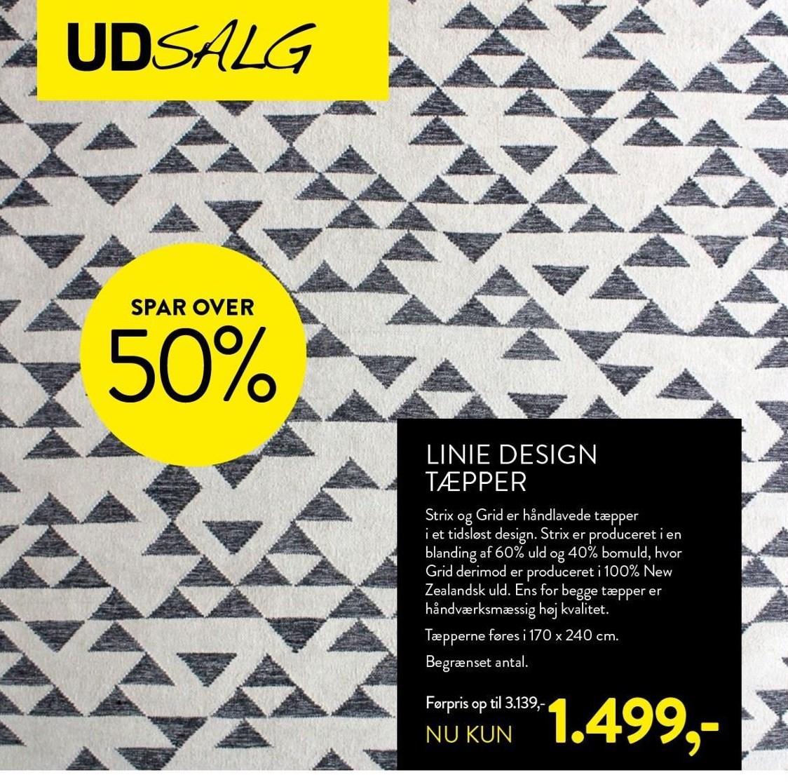 Linie design tæpper