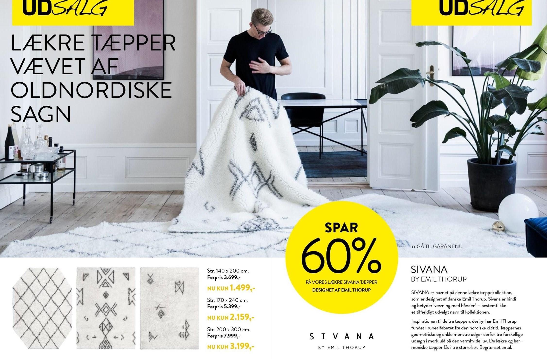 Sivana tæppe
