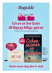 Bog & idé: Gyldig t.o.m lør 7/5