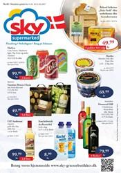 SKY Grænsebutikker: Gyldig t.o.m tir 21/2