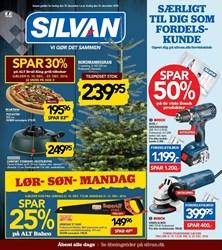 SILVAN: Gyldig t.o.m fre 16/12