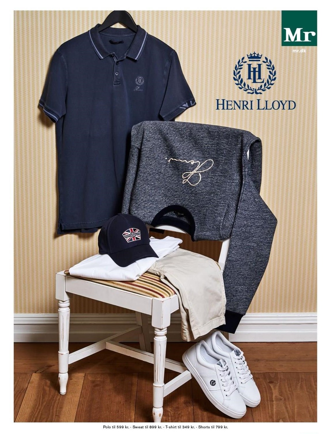 Polo, sweat, t-shirt eller shorts
