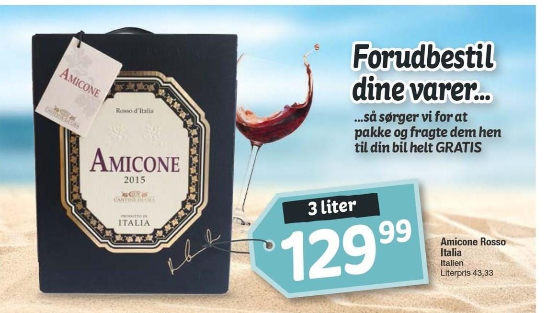 Amicone Rosso Italia 3 liter