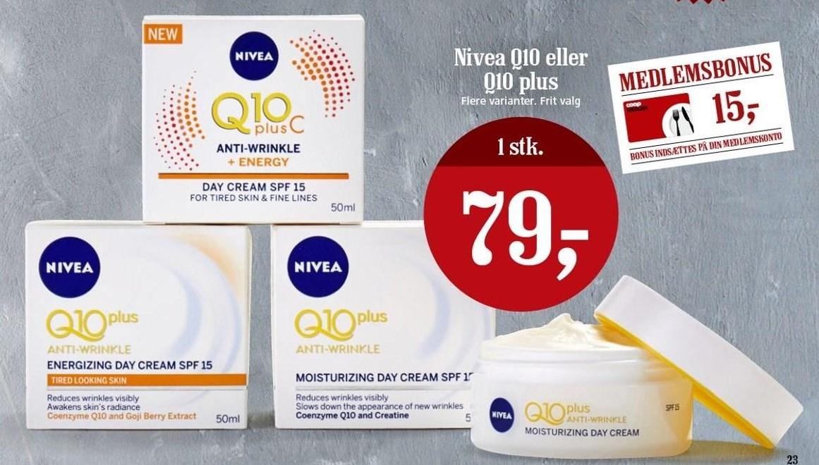 Nivea Q10 el. Q10 plus
