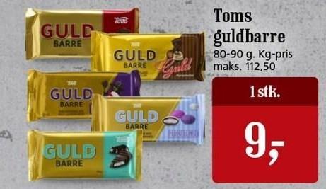 Toms guldbarre