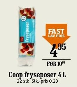 Coop fryseposer