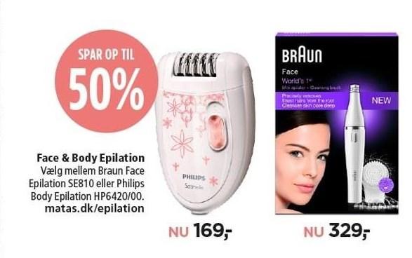 Face & Body Epilation
