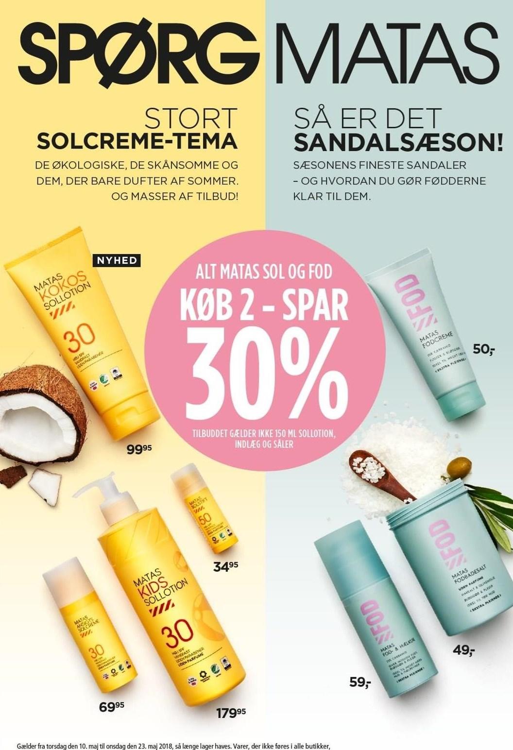 Solpleje - Køb 2 og spar 30%