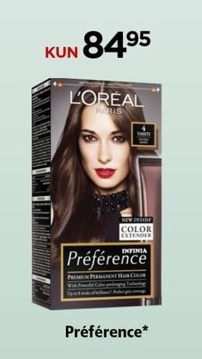 L'Oréal hårfarve