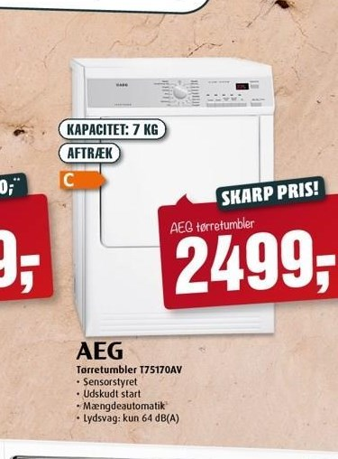 AEG tørretumbler