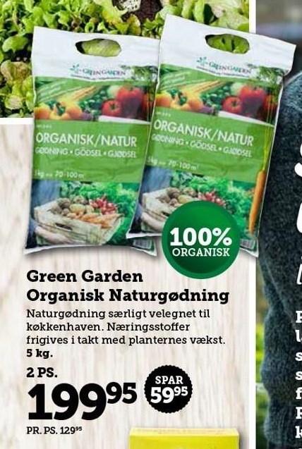 Green Garden Organisk Naturgødning