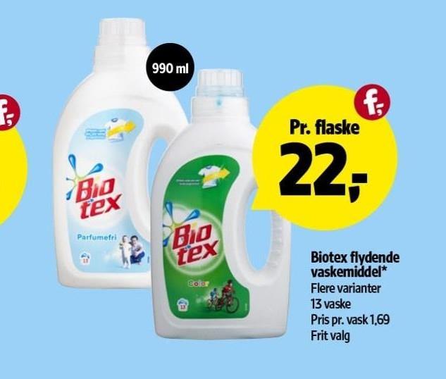 Biotex flydende vaskemiddel
