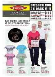 Dansk Outlet: Gyldig t.o.m ons 30/5