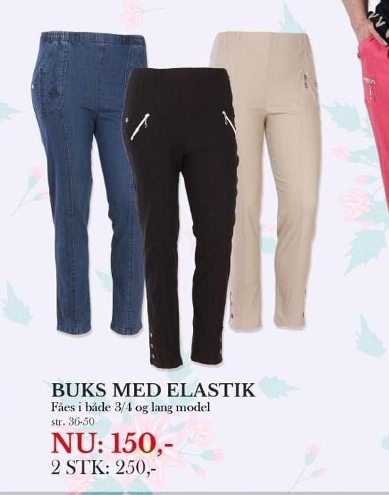 Bukser med elastik - 2 stk
