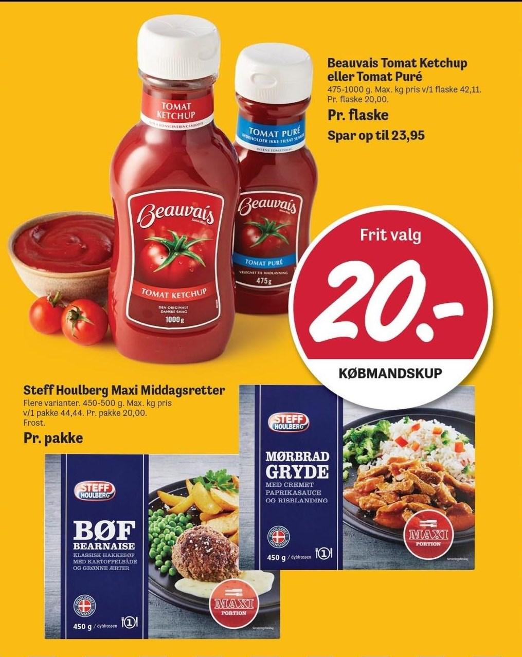 Beauvais tomat ketchup eller tomat puré