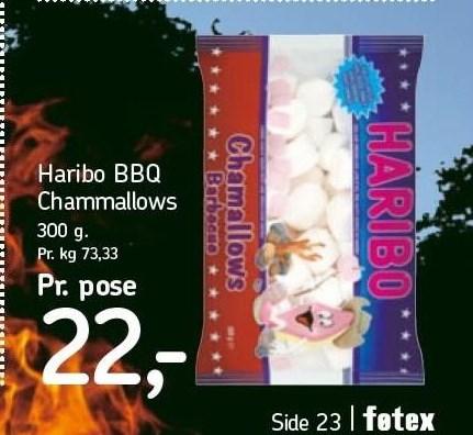 Haribo BBQ Chammallows