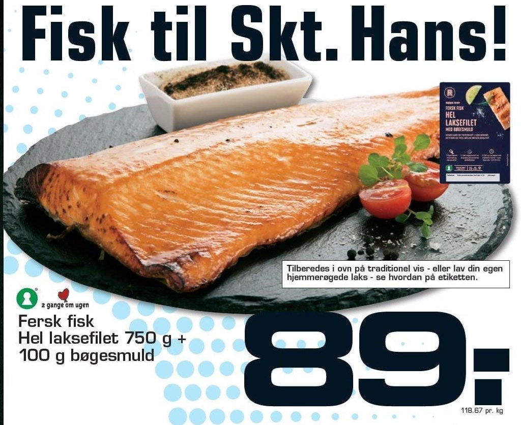 Hel laksefilet