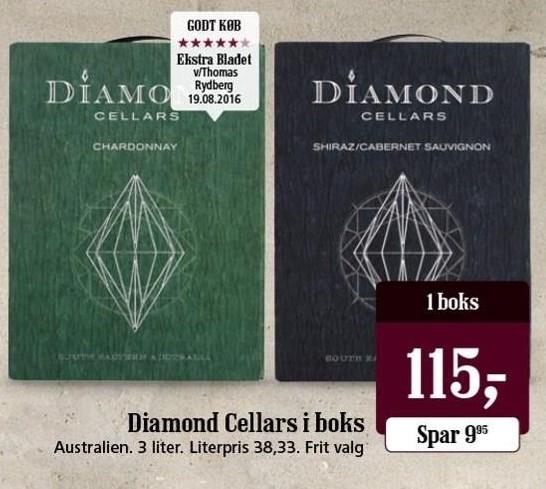 Diamond Cellars i boks