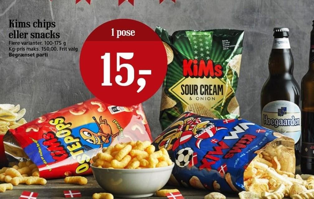 KiMs chips el. snacks