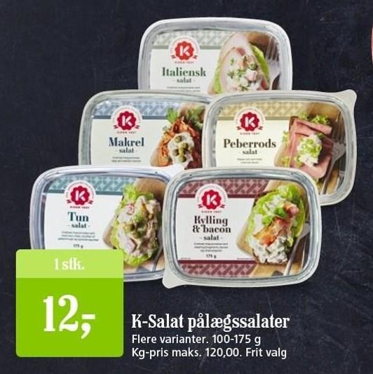 K-Salat pålægssalater