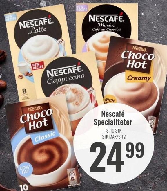 Nescafé Specialiteter