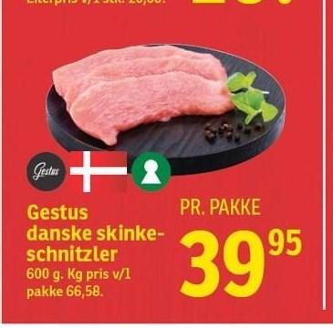 Gestus danske skinkeschnitzler