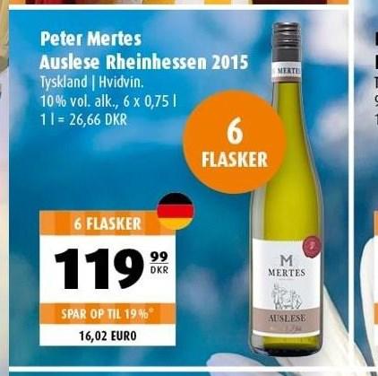 Peter Mertes Auslese Rheinhessen 2015 - 6 fl.