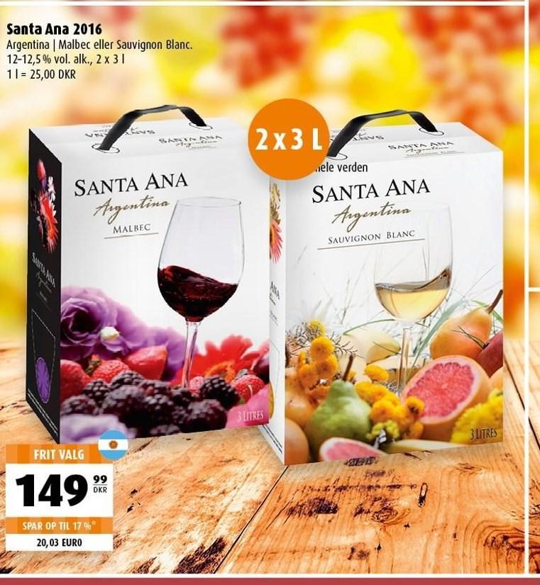 Santa Ana 2016 2 x 3 liter