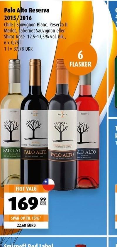 Palo Alto Reserva 6 flasker