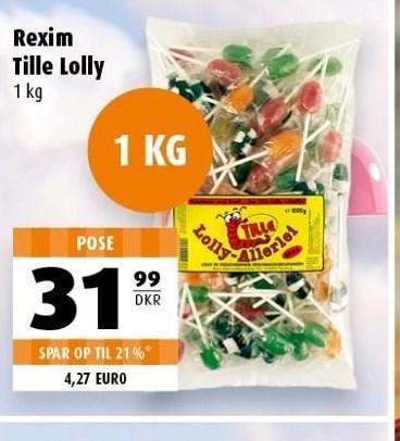 Rexim tille lolly