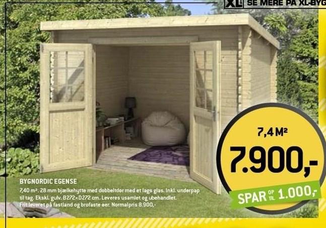 Bygnordic Egense hytte