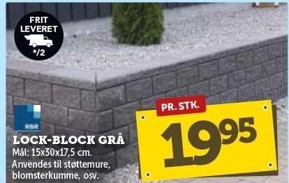 Lock-Block Grå
