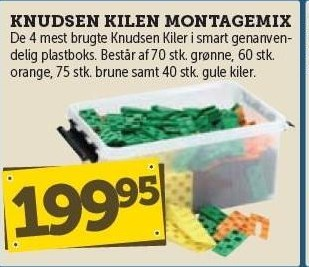 Knudsen Kilen Montagemix