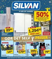 SILVAN: Gyldig t.o.m tor 22/3