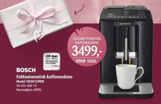 Fuldautomatisk kaffemaskine