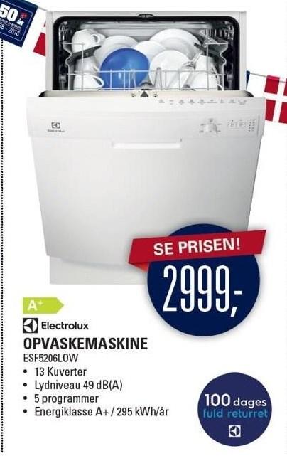 Electrolux Opvaskemaskine