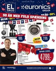 EL-Salg/Euronics Group: Gyldig t.o.m søn 6/5