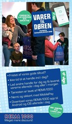 REMA 1000: Gyldig t.o.m lør 10/12