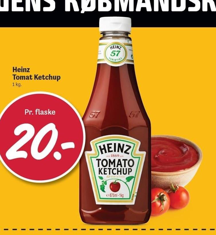 Heinz Tomat Ketchup