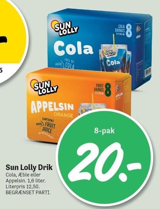 Sun Lolly Drik 8-pak