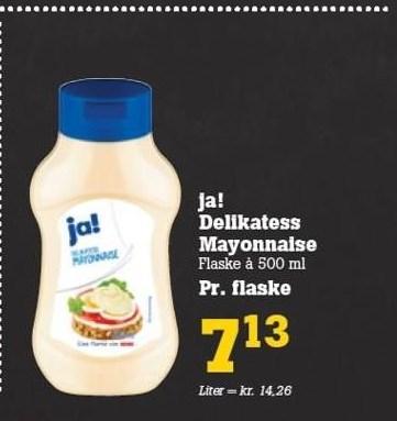 Ja! Delikatess Mayonnaise