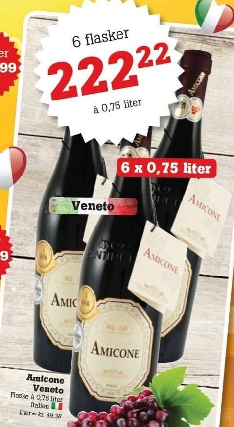 Amicone Veneto 6 fl.