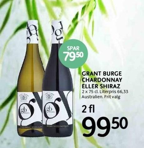 Grant burge chardonnay el. shiraz
