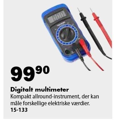 Digitalt multimeter