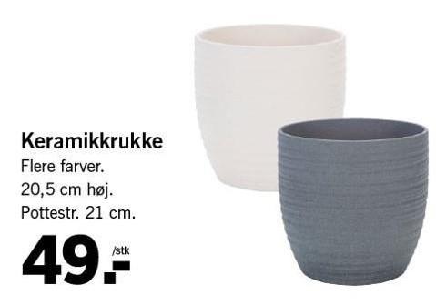 Keramikkrukke