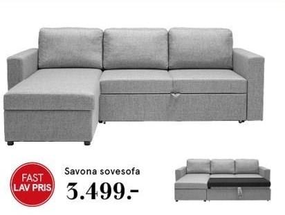 Savona sovesofa