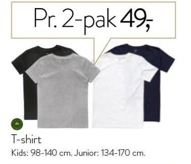 T-shirt 2 stk.